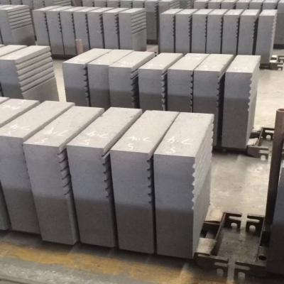 Si3N4 Bonded silicon carbide bricks used in Aluminum smelter